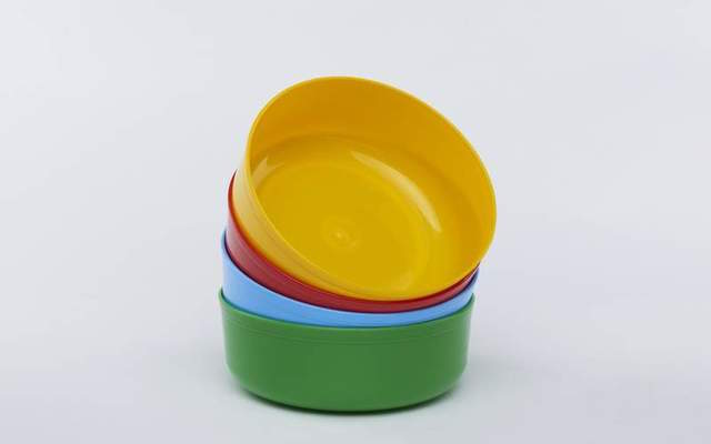 Plastic Basins - Mixed Colors